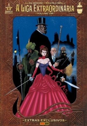 LIGA EXTRAORDINARIA, A, V.1 Best Reimagining of Classic Fiction: The Connery film was enjoyable but flighty, whereas the graphic novel got it right the first time around. That's because the movie cut out some of the best reimaginings, like when the gang (Captain Nemo, Allan Quatermain, Dr. Jekyll and Hawley Griffin and the Invisible Man) battles through H.G. Wells' The War of the Worlds, or foils the antichrist. And where do you know Alan Moore, the writer of the series? Oh yeah, those…