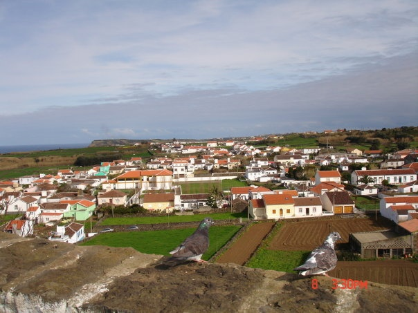 Vila Nova Village, where I grew up....Terceira, Azores