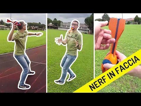 LANCIAMO il NERF VORTEX: COLPO IN FACCIA! epic fail  #NERF