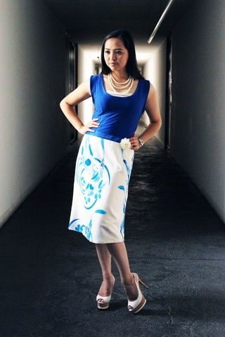 decora bamboo batik dress - on woven & knitted bamboo material