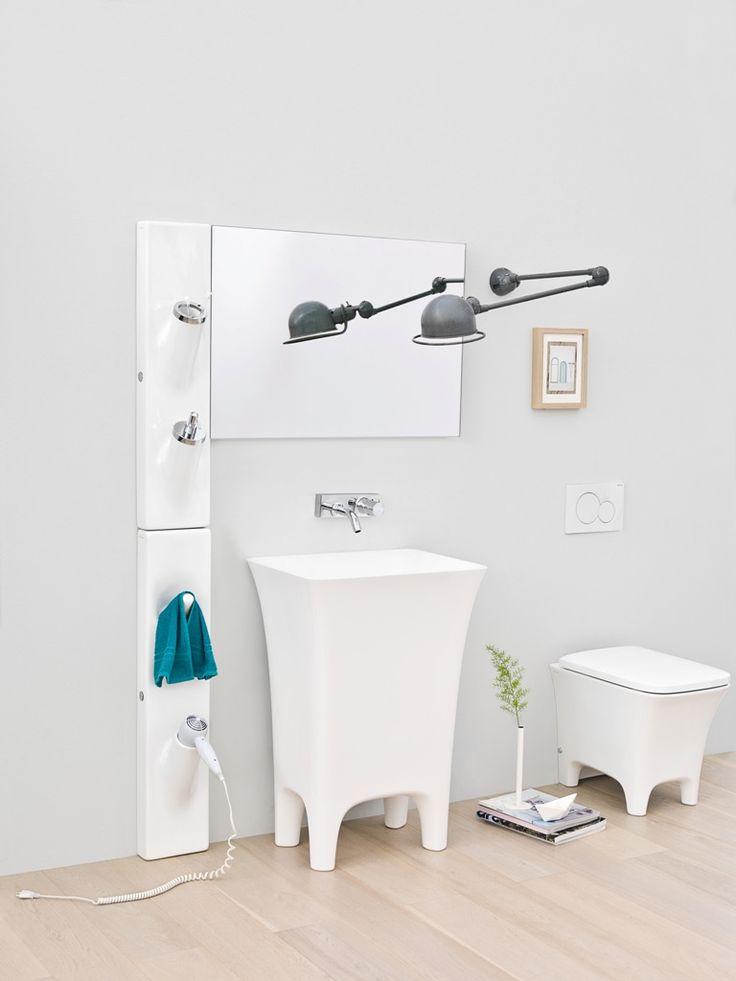 The.Artceram, lavabi e sanitari della collezione #bagno Cow, design Meneghello Paolelli Associati   Washbasins and sanitaryware of the Cow collection designed by Meneghello Paolelli Associati. #bathroom #sanitaryware