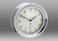 """Look what I found at Chelsea Clock: 8 1/2"""" Crosby Steam Gauge Clock"""