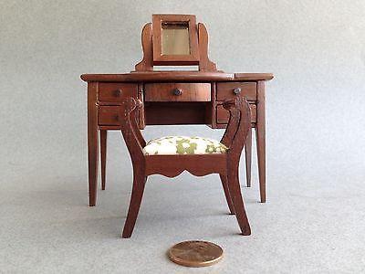 Dollhouse Miniature Sonia Messer Powder Table Stool 1