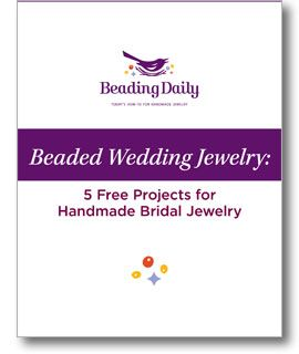 Create beautiful wedding jewelry perfect for any bride's big day @Beading Daily #Wedding