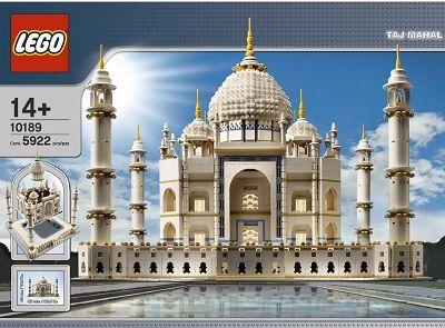Taj Mahal Is The Largest Lego Set