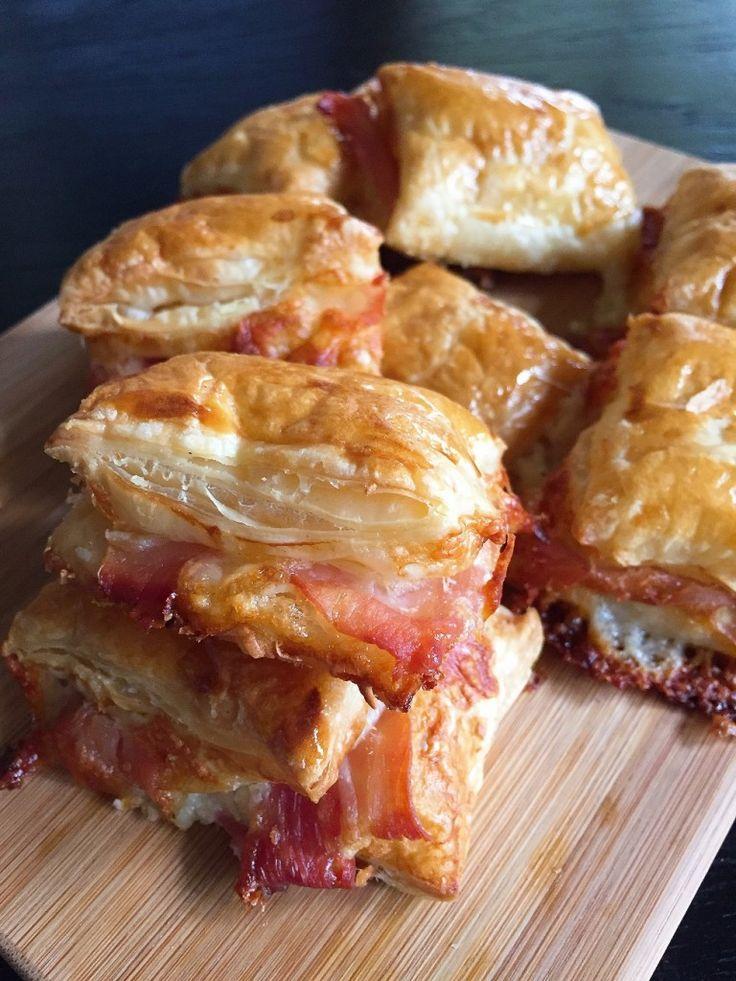 Ham and Cheese Puff