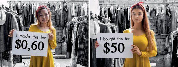 Les inégalités de la fast-fashion. Chez Hopaal nous avons à coeur de prendre soin de toute notre chaine de production.