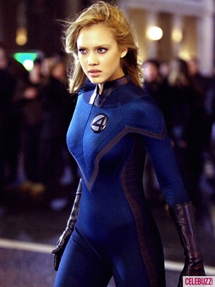 Jessica Alba as Sue Storm a.k.a. Invisible Woman in Fantastic Four (2005)