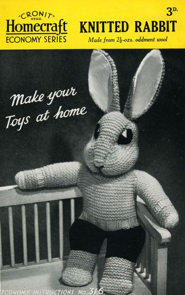 Vintage Knitting Patterns Toys : 17 Best images about Vintage Knitted Toys on Pinterest Vintage knitting, To...