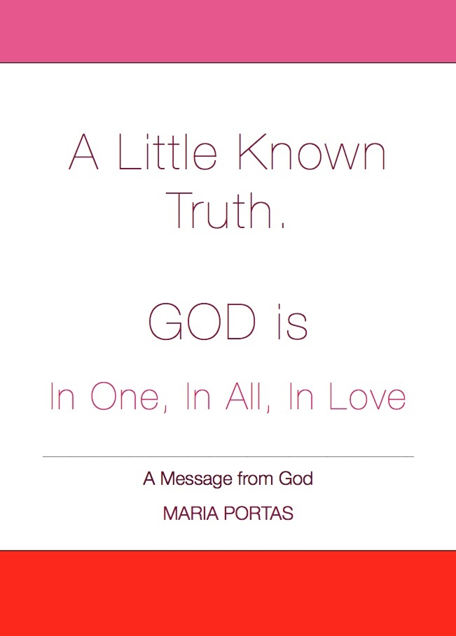 A Message from God. Maria Portas.