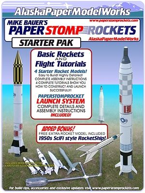 7 best paper models images on pinterest paper art paper for Paper stomp rocket template