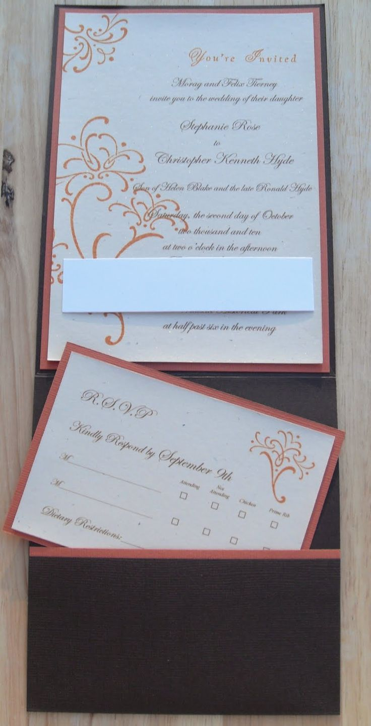 9 Best Stampin Up Wedding Invitations Images On Pinterest