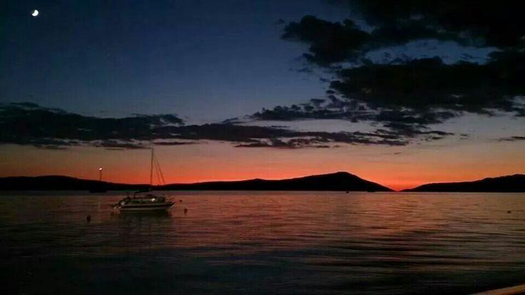 Twilight at Gialova -Peloponisos Greece