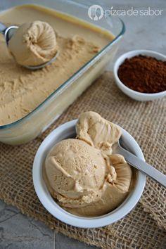 Helado de café con solo 4 ingredientes y que no necesita máquina de helados…