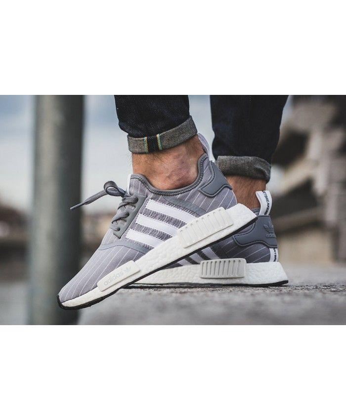 Adidas Nmd R1 Grey Trainers | Adidas