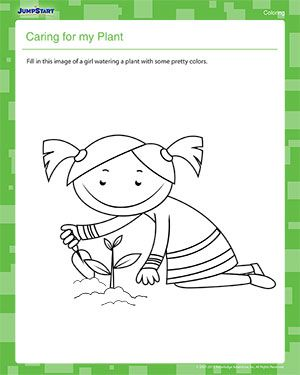 Bill Nye The Science Guy Worksheets Excel  Best Worksheet Images On Pinterest  Worksheets For  Interpreting Box And Whisker Plots Worksheet Excel with Financial Literacy Worksheets Excel This Printable Earth Day Coloring Worksheet Features A Little Girl Caring  For Her Plant Your Kindergartner Is Sure To Enjoy Filling It In With Some  Bright  Phonics Oo Sound Worksheets Excel