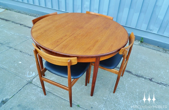 Mid Century Modern Round G Plan Butterfly Leaf Dining Table. | Mid Century  Mobler | Pinterest | Mid Century Modern, Mid Century And Modern