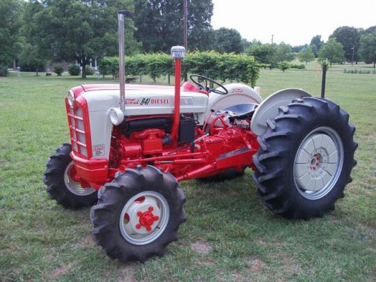 Ford 600 Tractor Farm : Images about old farm tractors and info on