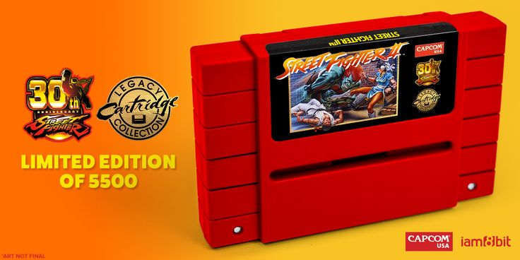 You can now pre-order a brand new working Street Fighter II SNES cartridge