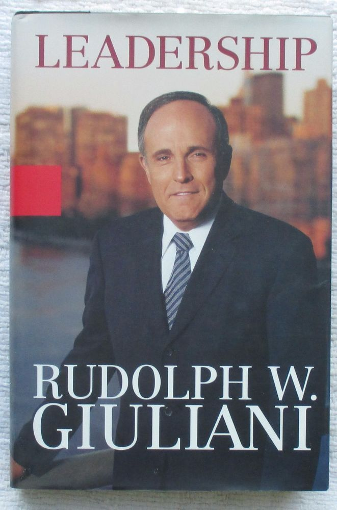409 best signed and rare books ebay images on pinterest authors leadership signed by rudolph w giuliani author 1st edition fandeluxe Choice Image
