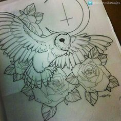 Tattoo-Design weitere Tattoo-Ideen Tattoo-Skizzen Eulen Tattoo Tattoo …