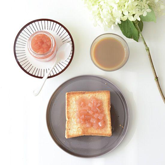 【入荷未定】うきは市産 特別栽培の桃ジャム(嶺鳳) - 北欧雑貨と北欧食器の通販サイト| 北欧、暮らしの道具店