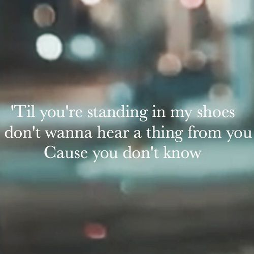 'Til it happens to you Lady Gaga lyrics