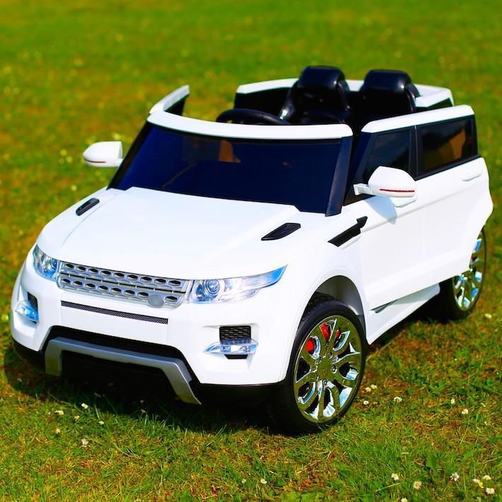 kids range rover hse sport style 12v electric battery ride on car jeep white
