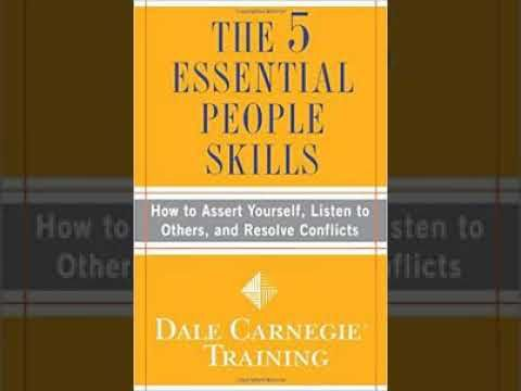 The 5 Essential People Skills Audiobooks by Dale Carnegie DVD2 - 01 A Definition Of RapportThis audiobook was created to help people having no chance to buy or read the physical book and this is used to help others. Please this help please share this audiobook for others and buy the real one if you have chance  The 5 Essential People Skills Audiobooks by Dale Carnegie DVD2 - 01 A Definition Of Rapport  From one of the most trusted and bestselling brands in business training and throughout…