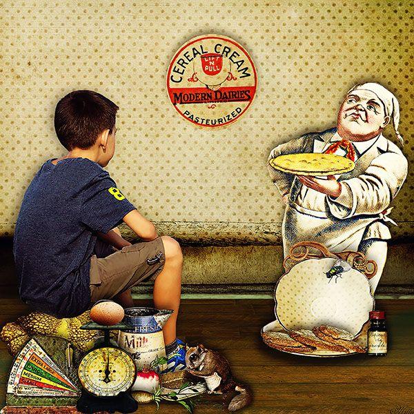 Baker,cook,etc by Krysty Scrap Designs