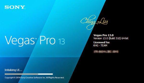 hackinggprsforallnetwork: Sony Vegas Pro 13.0 build 310 (64 bit) patch