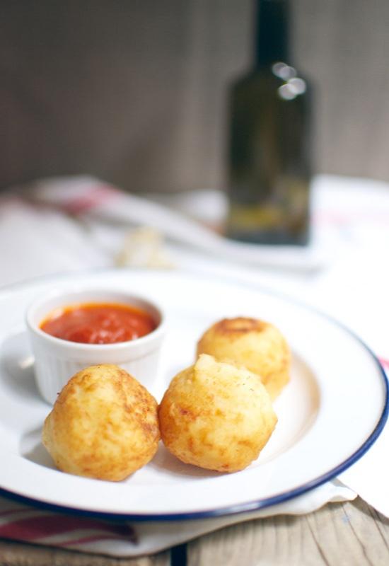 Receta 58: Croquetas de patatas y bacalao » 1080 Fotos de cocina