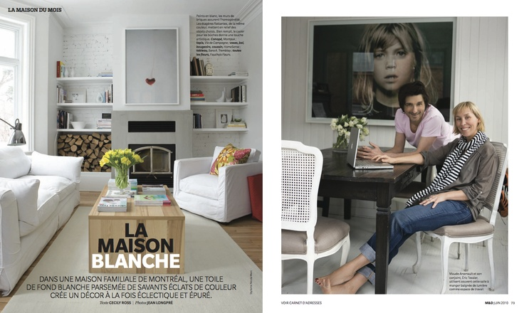 "Silver winner in #Homes & Gardens. ""La Maison Blanche"" by Maarten Sluyter published in Maison & Demure, 2010."