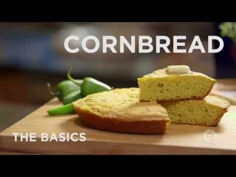 Here's a simple cornbread recipe perfect for a fall weekend meal!  Watch my how to video and let me know what you think!       Here's the Cooks Essentials Pan I used...                                Cornbread Ingredients: 1 to 2 tablespoons bacon fat 2 cups cornmeal, white or yellow 2 teaspoons bak...