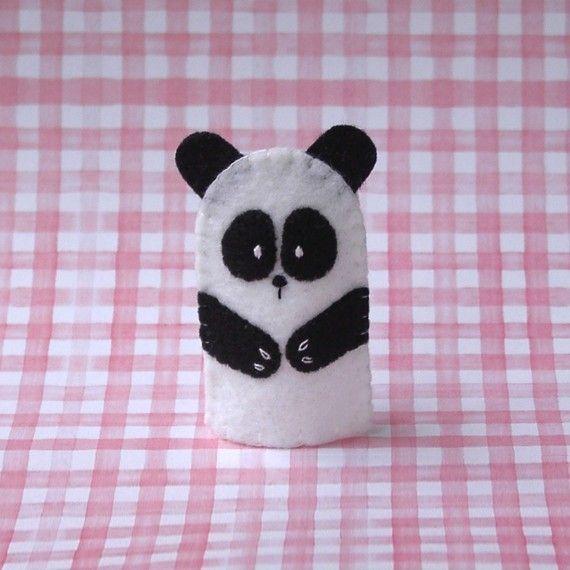 Panda girl scout swaps google search felt puppets for Andy panda jardin de infantes