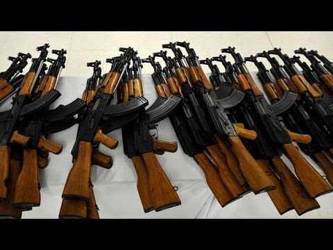 How are Kalashnikov made and tested.
