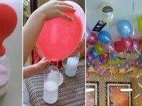 Ecco il trucco per gonfiare I palloncini e farli volare senza usare l'elio (VIDEO)