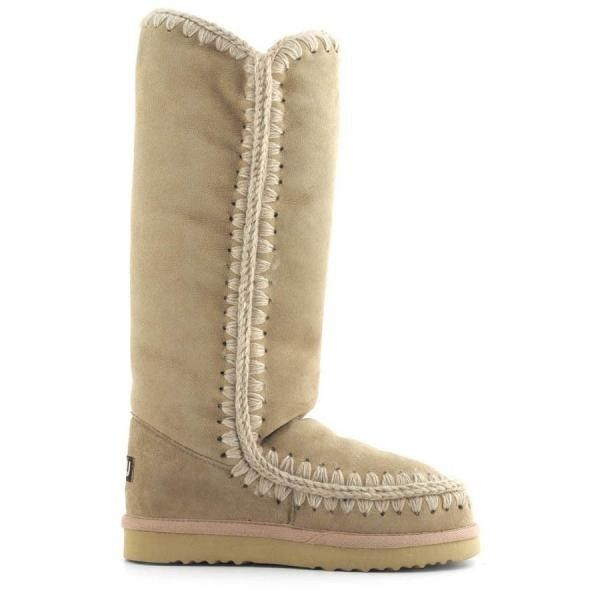 Mou Tall Eskimo Boots Camel - MOU
