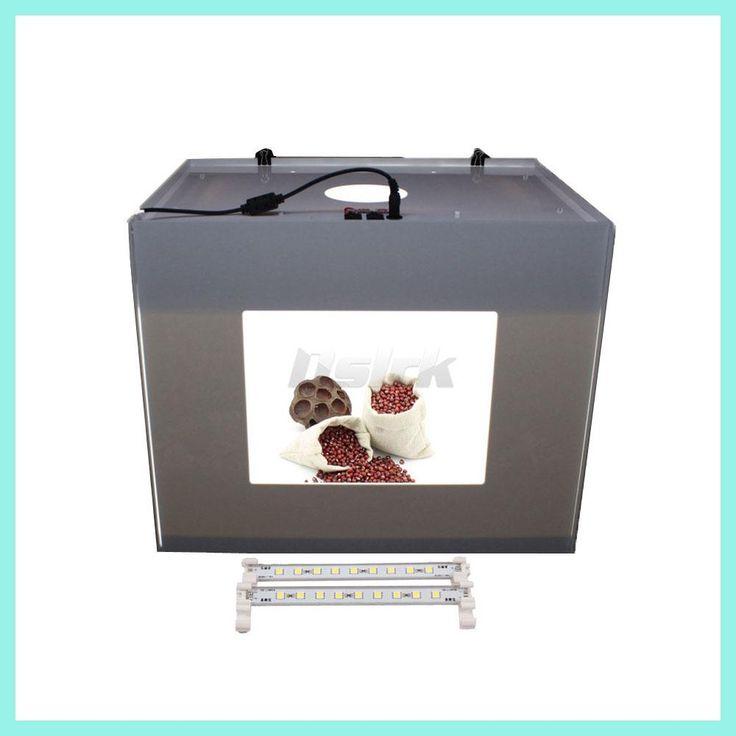ASHANKS D40 LED Lightbox Photography Lighting Photographic Studio Equipment Accesorios Fotografia For Photo Studio