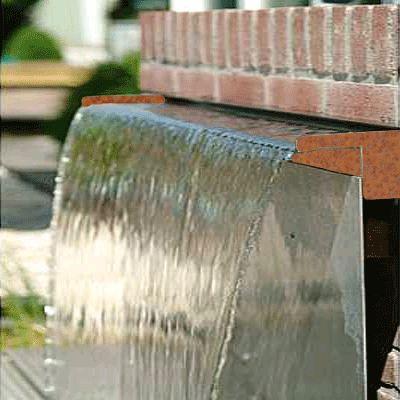 Corten Steel Water Blade Cortenstaal Pinterest