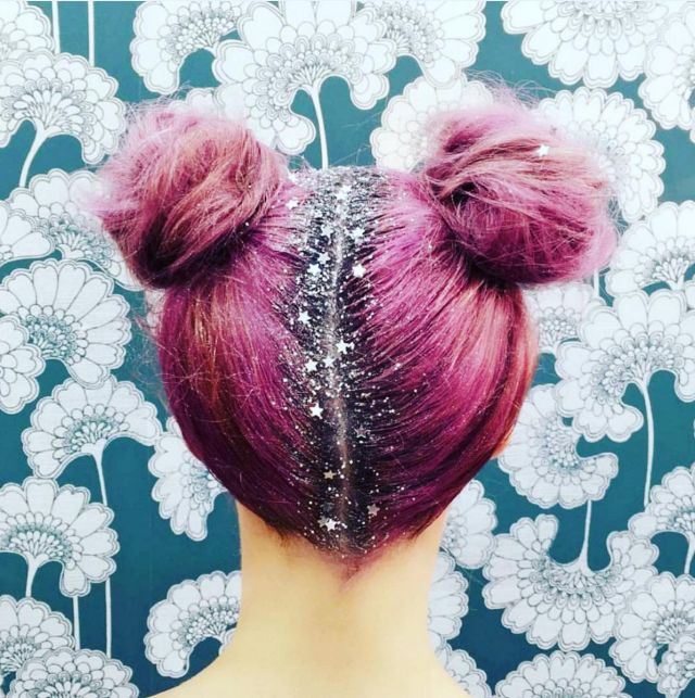 Glitter Roots Are the Stunning New Hair Trend Blowing Up on Instagram  - Seventeen.com