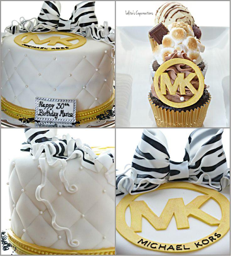 50 best Birthday images on Pinterest Michael kors cake Purse