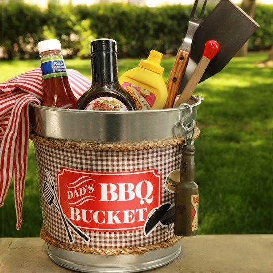 Bbq bucket for the raffle