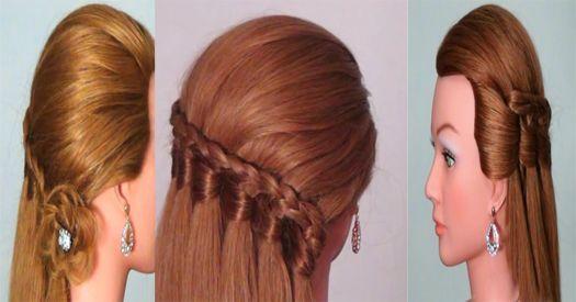Coiffures rapides, faciles et belles Dans ce tutoriel sur les cheveux, je vous montre des coiffures faciles. Ces coiffures sont très jolies pour les adolescentes, les jeunes filles ...