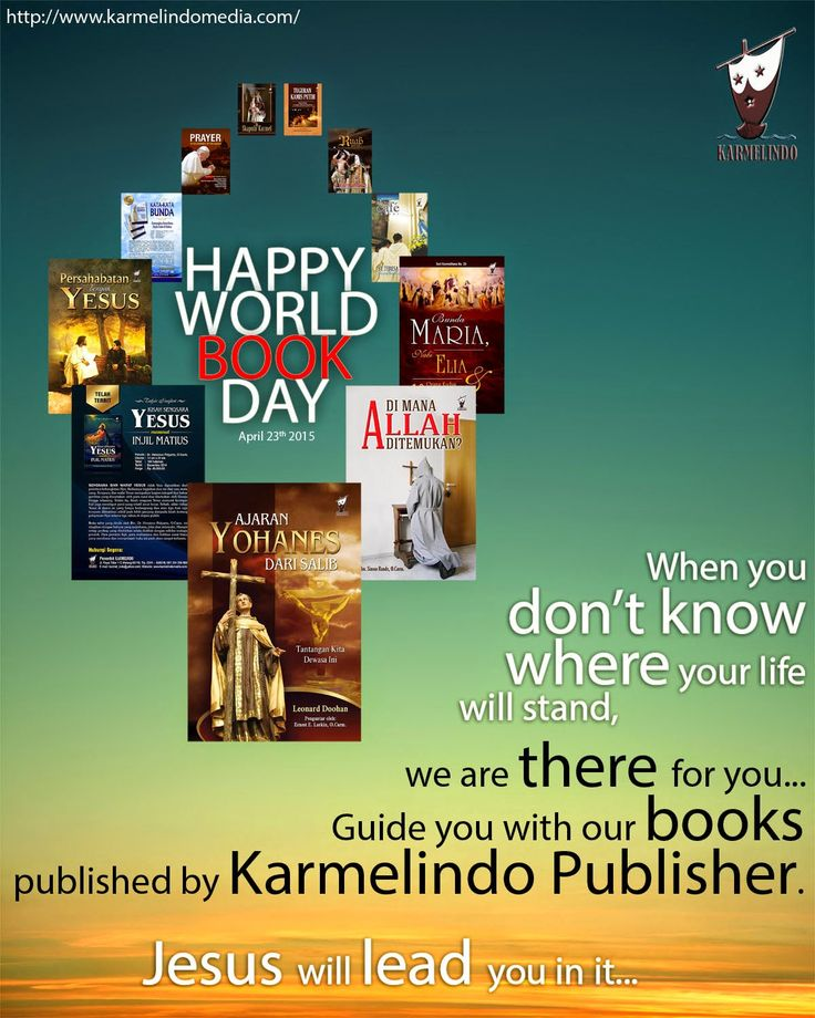 Happy World Book Day 2015 from Karmelindo Publisher