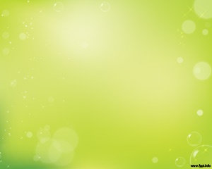 Free green abstract PowerPoint template for presentations
