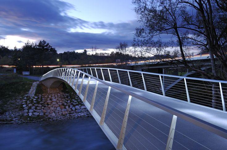 Sava footbridge
