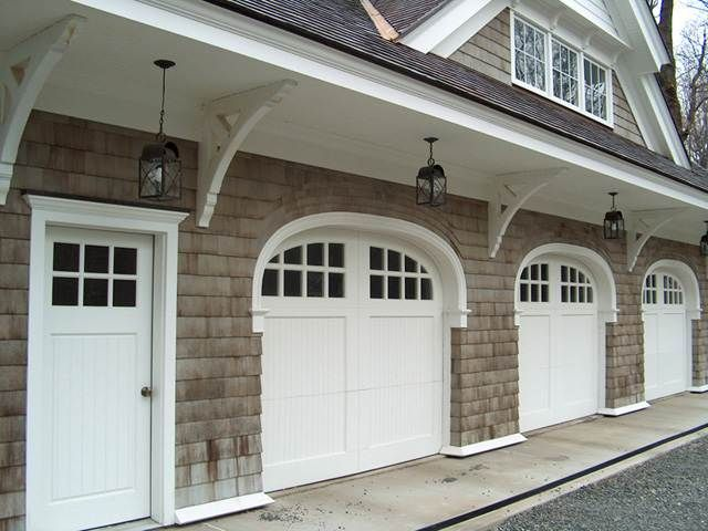 Awesome Carriage House Style Entry Doors