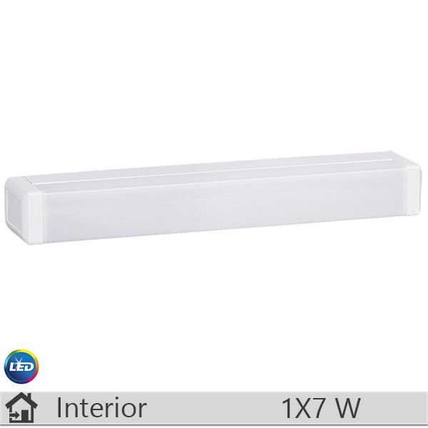 Aplica LED baie, iluminat decorativ interior Rabalux, gama Hidra, model 2357 http://www.etbm.ro/rabalux