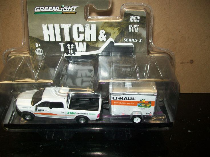 florida gators u haul truck  u0026 trailer 1  64 greenlight diorama custom 2014 dodge  greenlight